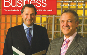 Merger of Buckingham Colour Group and Colour Quest cover of Print Business 2007