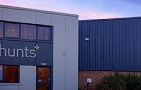 Hunts building in Kidlington in 2018