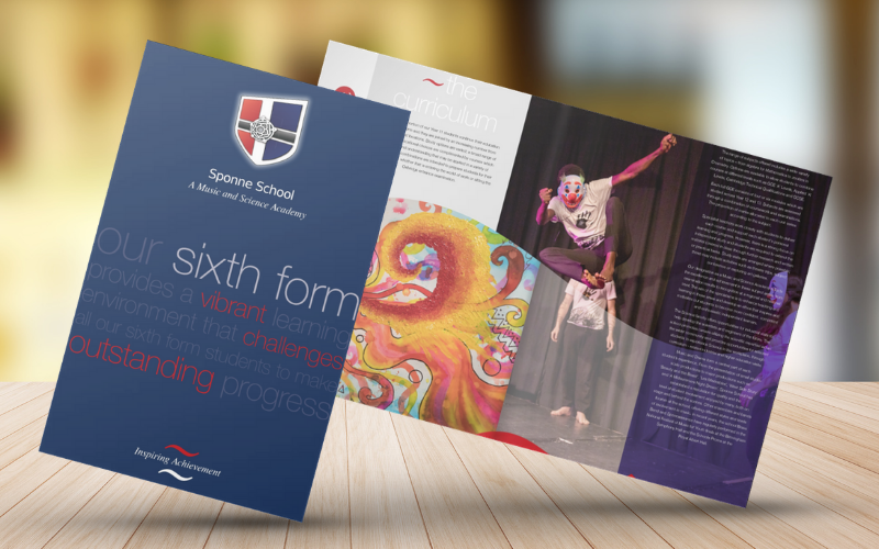 Prospectus design and print