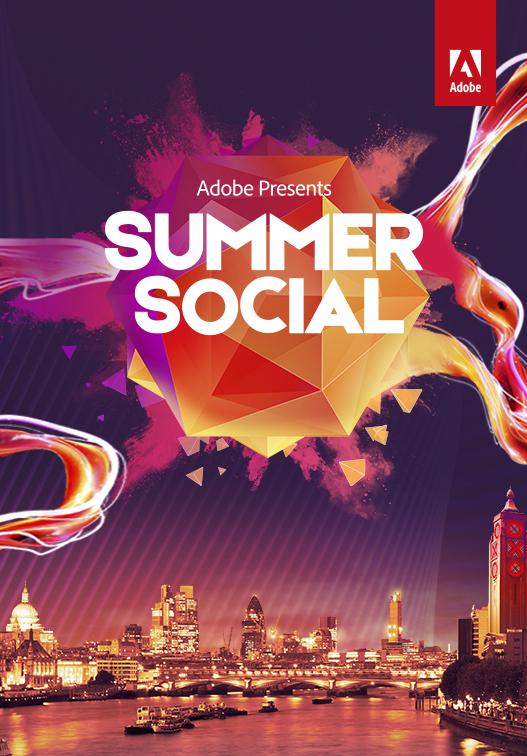 Adobe Summer social graphic