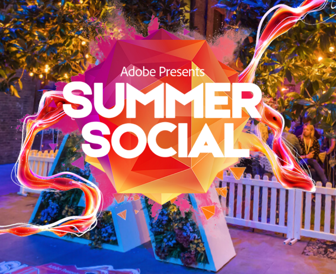 Adobe Summer Social campaign graphic