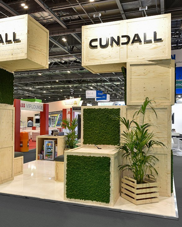 Cundall exhibition stand