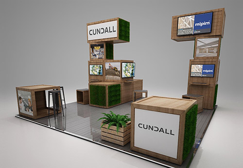 Exhibition stand 3D visual