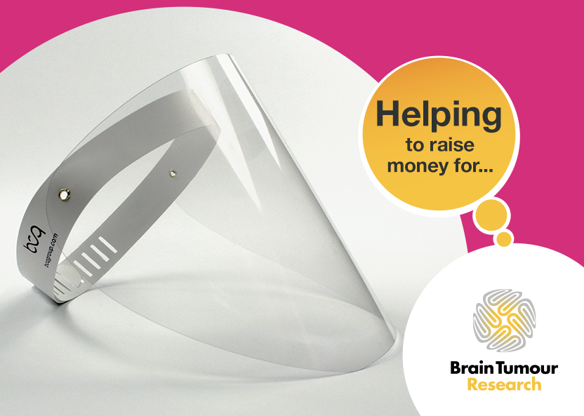 Brain Tumour Research Free PPE Visors