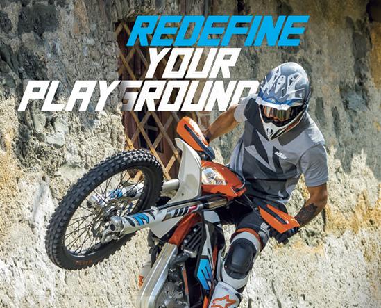 KTM motorcycles redefine your playground