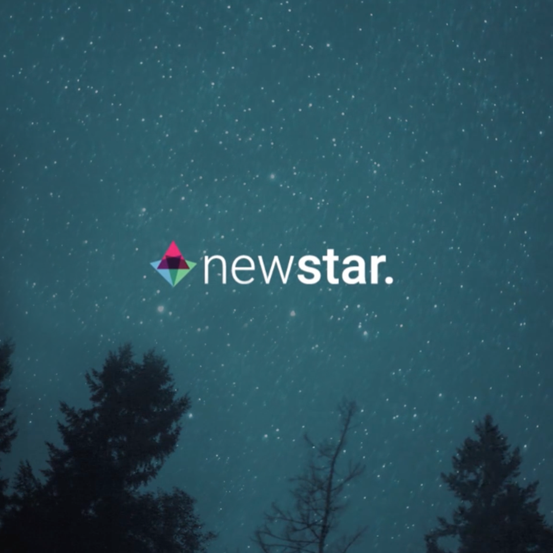 Newstar branding and corporate identity design