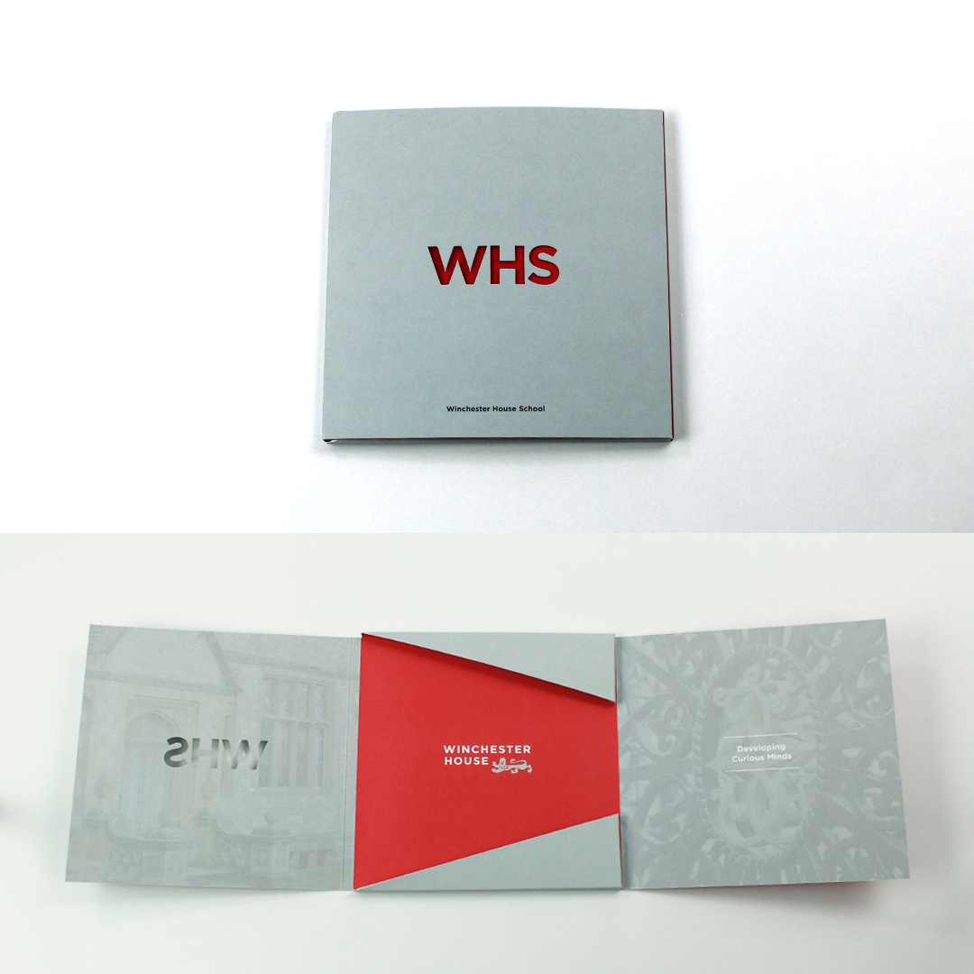 Winchester House School Prospectus design and production